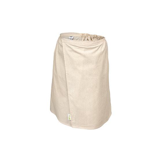 Накидка для бани и сауны Банные Штучки Лён мужская 140х60 см 33357