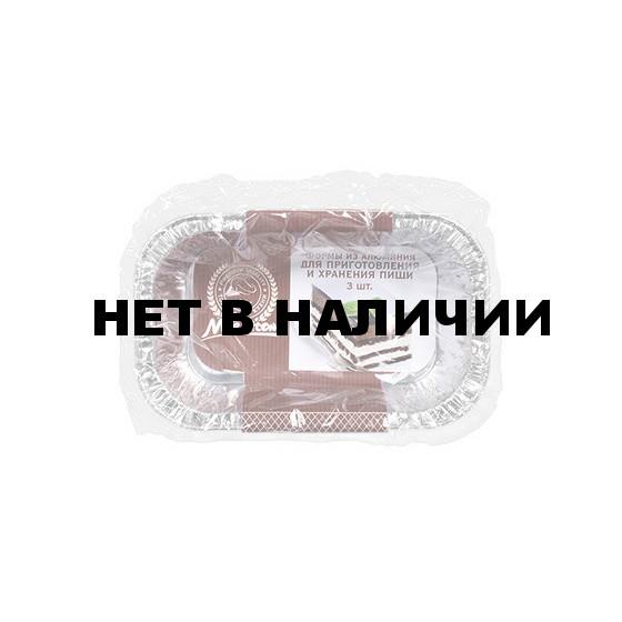 Форма алюминиевая Marmiton прямоугольная 3 шт 11357