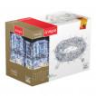 Уличная светодиодная гирлянда (холодный свет) Vegas Занавес 192 LED, 6 нитей, 1х4 м, 24V 55025