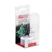 Свеча чайная светодиодная Vegas Елочка с батарейкой 6х8 см, 24V 55052