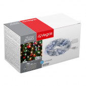 Светодиодная гирлянда для дома (холодный свет) Vegas Сеть 176 LED, 1,5х1,5 м, 220V 55075