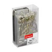 Светодиодная гирлянда для дома (холодный свет) Vegas Нить 20 LED, 2 м, на батарейках, пульт 55105