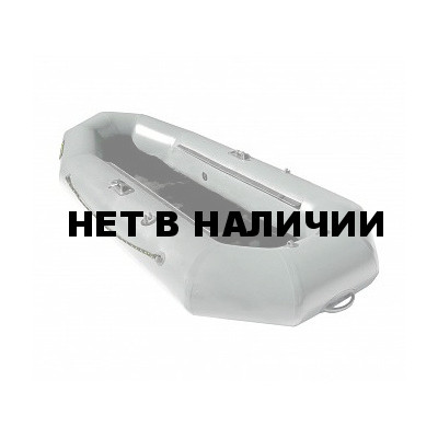 Надувная лодка Лидер Компакт 280 упрощенная (серая)