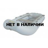 Надувная лодка Лидер Компакт 290 гребная (серая)