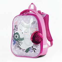Ранец для девочек Brauberg Premium Лисичка с брелоком 17 л 227818