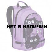 Рюкзак школьный ортопедический Grizly Коты 13 л RG-068-1/2 (228307)