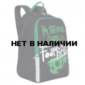 Рюкзак школьный ортопедический Grizly Football 13,5 л RB-051-2/1 (229505)