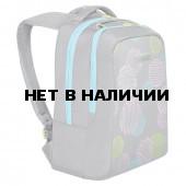 Рюкзак школьный ортопедический Grizly Круги 12 л RG-066-2/1 (229519)