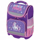 Ранец для девочек Юнландия Wise Unicorn power 16 л 228817