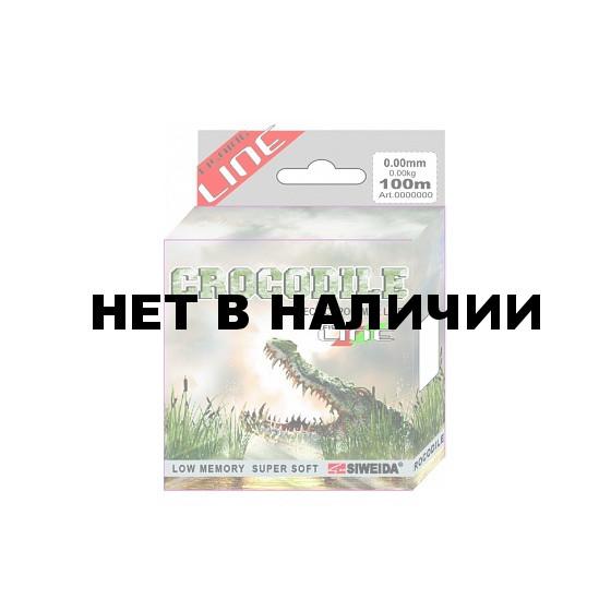 Леска SWD Crocodile 100м 0,4 (13,10кг) ваккум/уп прозрачная