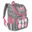 Ранец школьный ортопедический Grizly Мяу с сумкой для обуви 8 л RAm-084-1/1 (229524)
