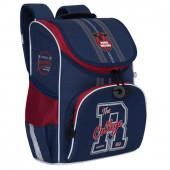 Ранец школьный ортопедический Grizly College с сумкой для обуви 8 л RAm-085-1/2 (229527)