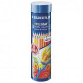 Карандаши цветные Staedtler Noris club 24 цвета в тубусе 144 NMD24