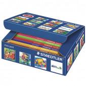 Карандаши цветные Staedtler Noris Club 12 цветов 144 штуки 144 C144