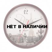 Часы настенные Troyka 91931927 круг D23 см