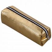 Пенал косметичка на молнии Brauberg Celebrity Gold (228992)