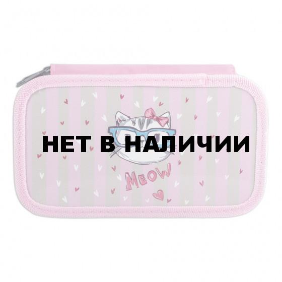 Пенал для девочек Юнландия Meow (228112)