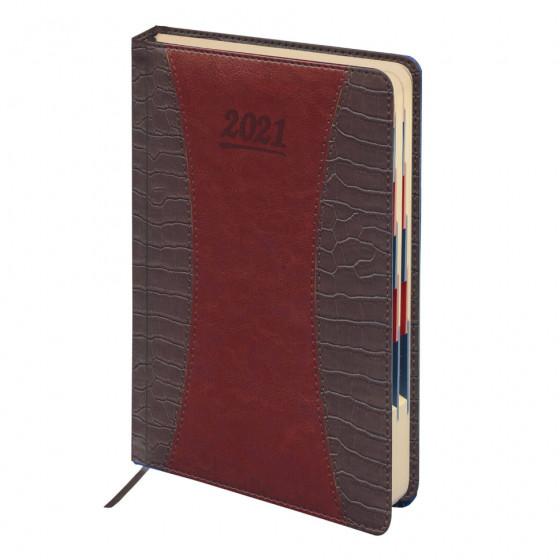 Ежедневник датированный 2021 А5 Galant CombiContract 168 листов 111516