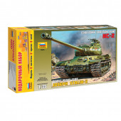 Сборная модель Звезда Танк тяжелый советский ИС-2 (1:35) 3524П