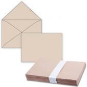 Конверты почтовые С4 без клея, крафт, треугольный клапан, 500 шт