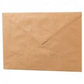 Конверты почтовые С5 клей, крафт, треугольный клапан, 1000 шт