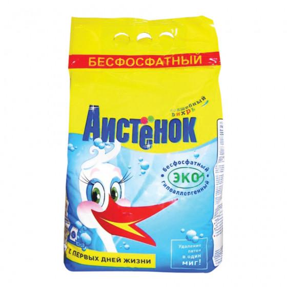 Стиральный порошок детский безфосфатный Аистенок Волшебный вихрь 4 кг