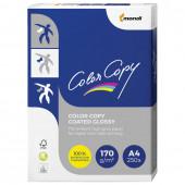 Бумага для цветной лазерной печати Color Copy Glossy А4, 170 г/м2, 250 листов, глянцевая