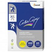 Бумага для цветной лазерной печати Color Copy Glossy А3, 200 г/м2, 250 листов, глянцевая