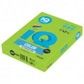 Бумага цветная для принтера IQ Color А4, 80 г/м2, 500 листов, ярко-зеленая, MA42