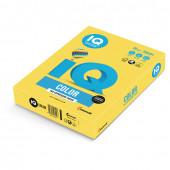 Бумага цветная для принтера IQ Color А4, 80 г/м2, 500 листов, канареечно-желтая, CY39