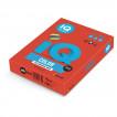 Бумага цветная для принтера IQ Color А4, 80 г/м2, 500 листов, кораллово-красная, CO44