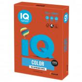 Бумага цветная для принтера IQ Color А4, 80 г/м2, 500 листов, красный кирпич, ZR09