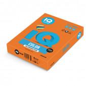 Бумага цветная для принтера IQ Color А4, 80 г/м2, 500 листов, оранжевая, OR43
