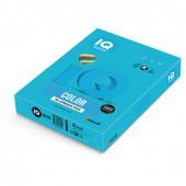 Бумага цветная для принтера IQ Color А4, 80 г/м2, 500 листов, светло-синяя, AB48