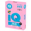 Бумага цветная для принтера IQ Color А4, 80 г/м2, 500 листов, розовая, NEOPI