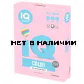 Бумага цветная для принтера IQ Color А4, 80 г/м2, 500 листов, розовая, PI25