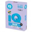 Бумага цветная для принтера IQ Color А4, 80 г/м2, 500 листов, бледно-лиловая, LA12