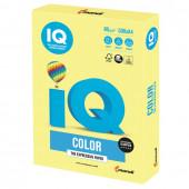 Бумага цветная для принтера IQ Color А4, 80 г/м2, 500 листов, лимонно-желтая, ZG34