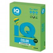 Бумага цветная для принтера IQ Color А4, 80 г/м2, 500 листов, зеленая липа, LG46