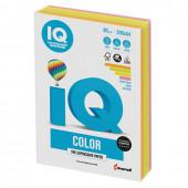 Бумага цветная для принтера IQ Color А4, 80 г/м2, 200 листов, 4 цвета, RB04