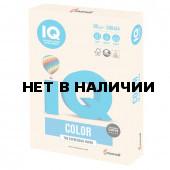 Бумага цветная для принтера IQ Color А4, 80 г/м2, 500 листов, кремовая, CR20