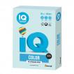 Бумага цветная для принтера IQ Color А4, 80 г/м2, 500 листов, светло-голубая, BL29