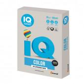 Бумага цветная для принтера IQ Color А4, 80 г/м2, 500 листов, серая, GR21
