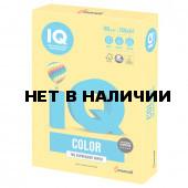 Бумага цветная для принтера IQ Color А4, 160 г/м2, 250 листов, канареечно-желтая, CY39