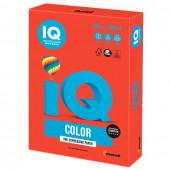 Бумага цветная для принтера IQ Color А4, 160 г/м2, 250 листов, кораллово-красная, CO44