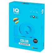 Бумага цветная для принтера IQ Color А4, 160 г/м2, 250 листов, светло-синяя, AB48