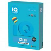 Бумага цветная для принтера IQ Color А4, 120 г/м2, 250 листов, светло-синяя, AB48