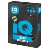 Бумага цветная для принтера IQ Color А4, 160 г/м2, 250 листов, черная, В100, B100