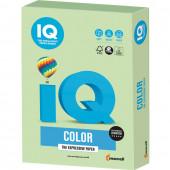 Бумага цветная для принтера IQ Color А4, 160 г/м2, 250 листов, зеленая, MG28