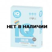 Бумага цветная для принтера IQ Color А4, 160 г/м2, 250 листов, голубая, MB30